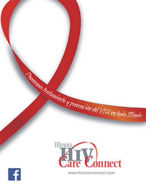 Illinois HIV Care Connect poster