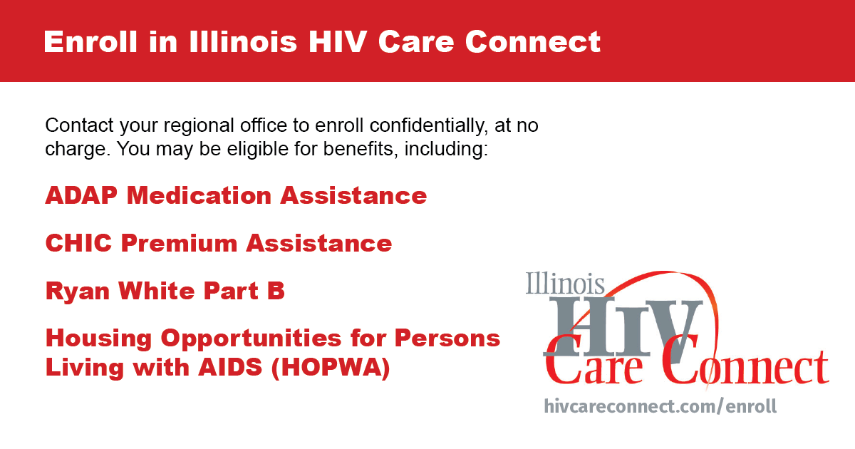 Enroll in Illinois HIV Care Connect