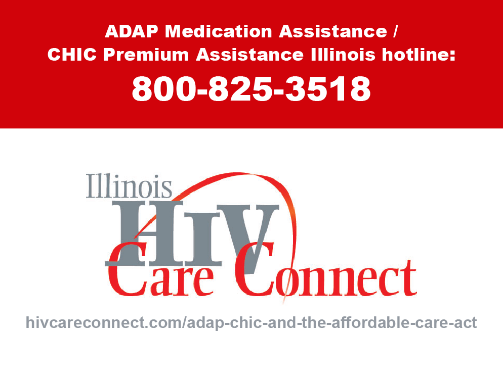 ADAP Medication Assistance Hotline: 800-825-3518