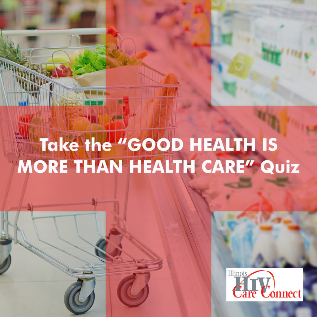 good health quiz shopping