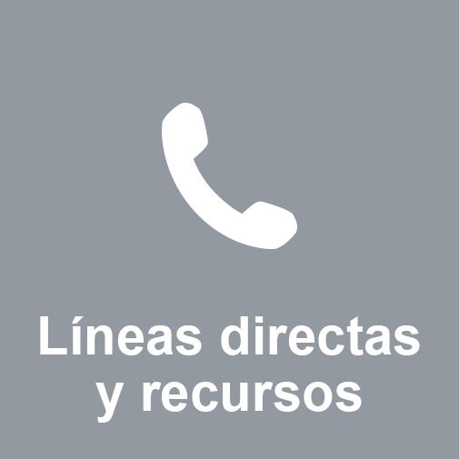 Líneas directas y recursos