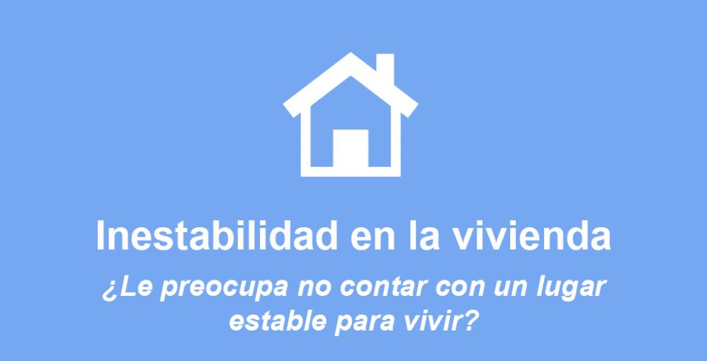 housing instability es 1