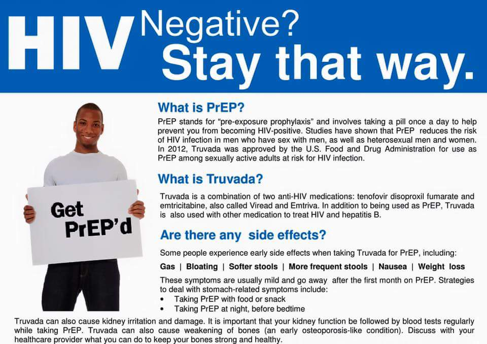 HIV negative? Stay that way.